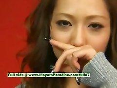Misa Tsuchiya innocent asian girl is posing