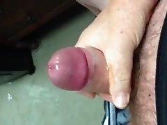 Big Dick Dad Jerks Off