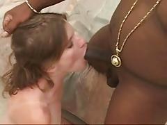 Horny Babe Fucked And Creamed By BBC !