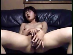 Horny Masturbating Asian