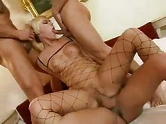 Hot Groupfuck with 3 Guys an 1 Girl 01