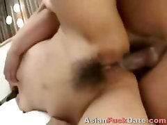 Asian Whore Sperm Covered