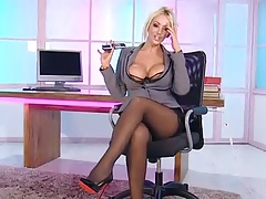 Lucy Zara in the RLC Office
