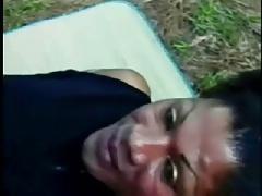 Fat Cock Brazilian Shemale Outdoor Fun Episode1