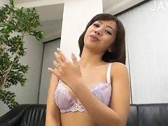 Japanese slut swallowing cock scene 6